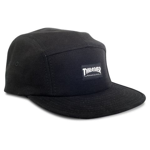 Thrasher Skate Mag 5-Panel Hat (Black)