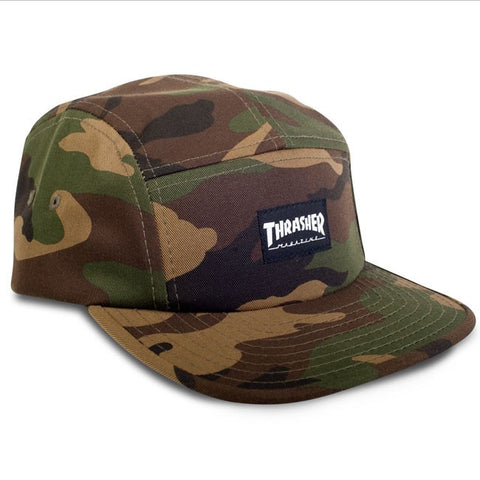 Thrasher Skate Mag 5-Panel Hat (Camo)