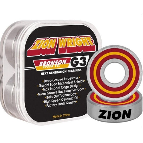 Bronson Zion Wright G3 Bearings