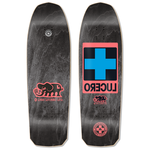 "Black Label Lucero Cross Deck (Black Stain) 10"" x 32.875"""
