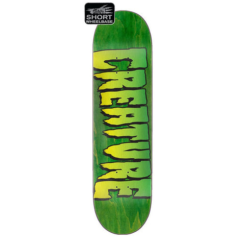 Creature Logo Stumps Deck 8.51""