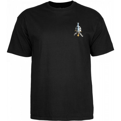 Powell Peralta Skull and Sword T-Shirt Black