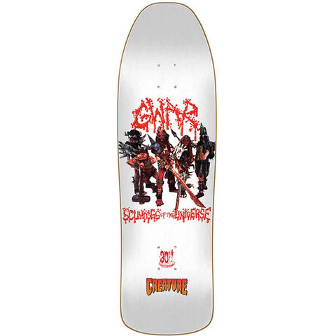 Creature GWAR 30 Year Scumdogs of the Universe Limited Deck 9.34 x 31.65