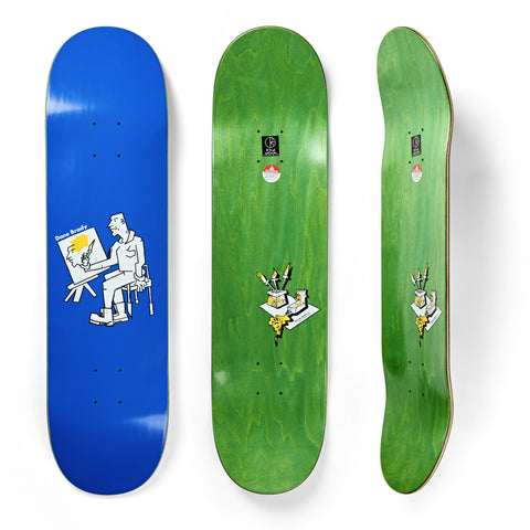 Polar Skate Co Dane Brady Painter Blue Deck 7.875""