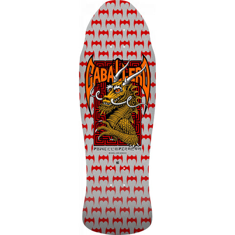 Powell Peralta Caballero Street Reissue Deck (Silver): 9.625""