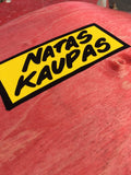 "101 Natas Kaupas Challenger Screen Printed R7 Deck 9.8"" (Red Stain)"