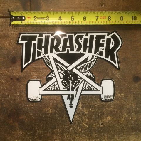 "THRASHER ""Skategoat"" Super Size Sticker (Assorted)"