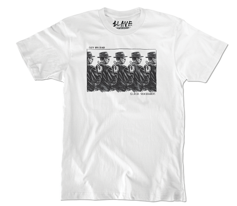 Slave Copy Machine T-Shirt (White)
