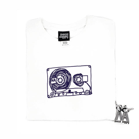 Noise Array Cassette T-Shirt (white)
