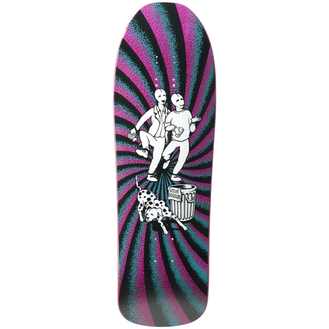 "New Deal Douglas Chums Reissue Screen Printed Deck 9.75"" (Pink)"