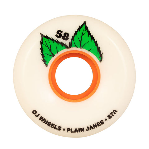 OJ Plain Jane Keyframe 58mm 87A Wheels