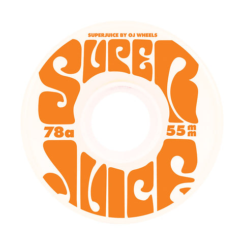 OJ Mini Super Juice 55mm 78A Wheels (White)