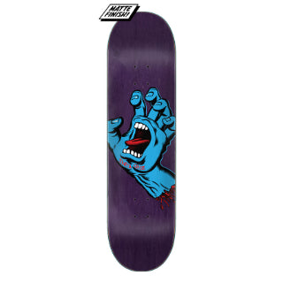 Santa Cruz Screaming Hand Deck 8.375""