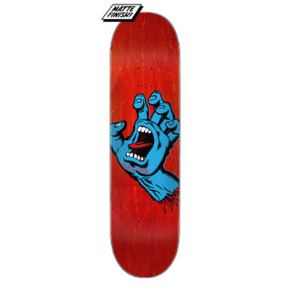 Santa Cruz Screaming Hand Deck 8.0""