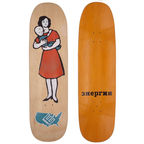 Energy Mother Orange Deck 8.75""