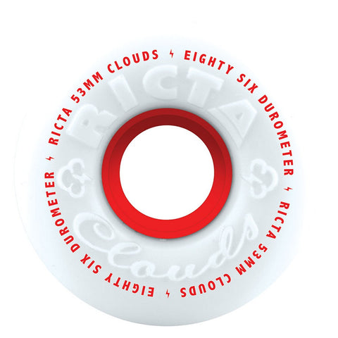 Ricta Clouds 53mm 86A Wheels (Red)