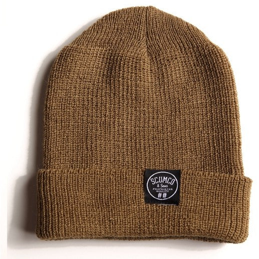 "SCUMCO & SONS ""Watch Cap"" Beanie (Camel Clutch)"
