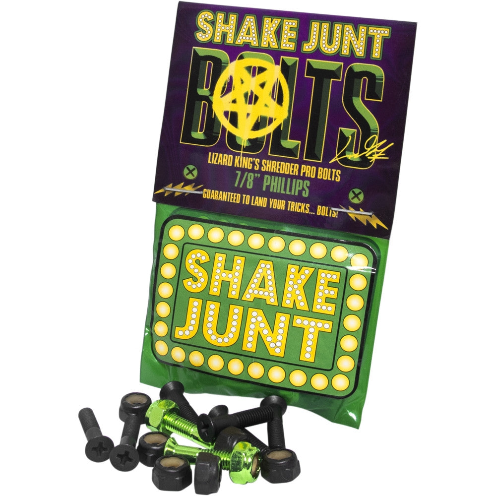 SHAKE JUNT Lizard King Phillips Hardware: 7/8""