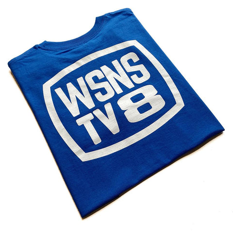 Scumco WSNS TV8 T-Shirt (Blue)
