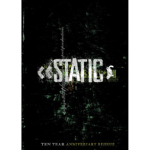 """STATIC"" Re-Release DVD"
