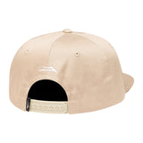 Lakai Swift Polo 6-Panel Snapback Hat (Khaki)