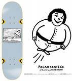 Polar Halberg Bounce Wheel Wells Deck 8.0""