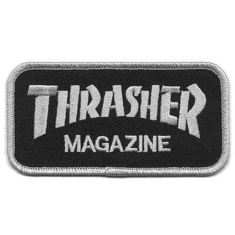 "THRASHER ""Magazine Logo"" Patch (Black)"