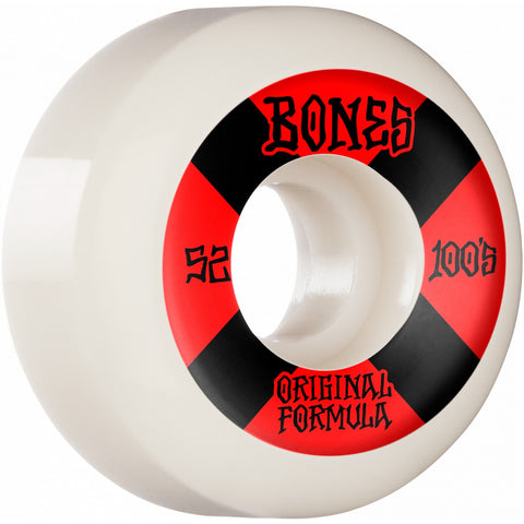Bones 100's V5 Sidecut 52mm Wheels