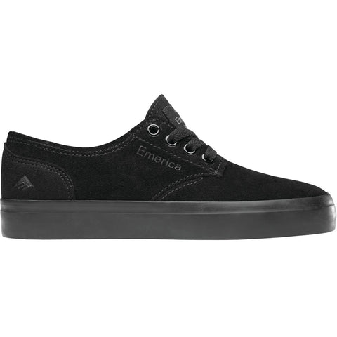 Emerica Kids Romero Laced (Black/Black/Gum)