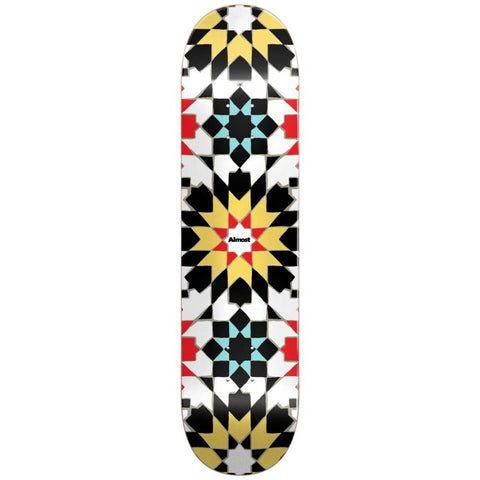 Almost Tile Pattern Logo Deck 8.0""