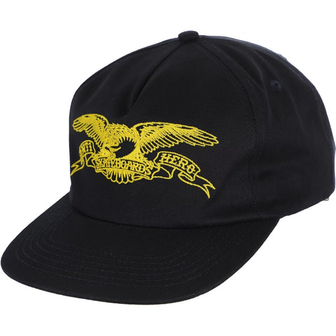 Antihero Basic Eagle Snapback Hat (Navy)