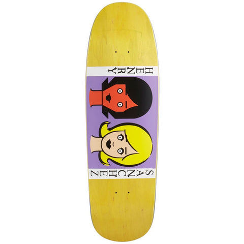 Blind Henry Sanchez Two Girls Reissue Screen Printed Deck 9.6""