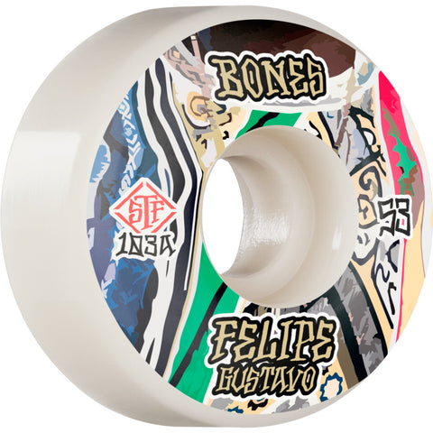 Bones Street Tech Formula Gustavo Bed-Stuy 53mm 103A V1 Wheels