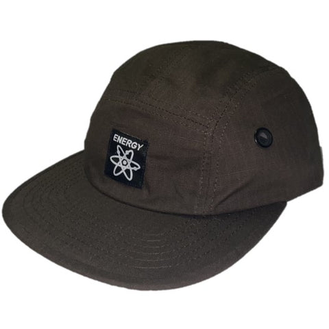 Energy Skate Shop OG Logo 5-Panel Hat (Brown)