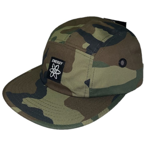 Energy Skate Shop OG Logo 5-Panel Hat (Camo)