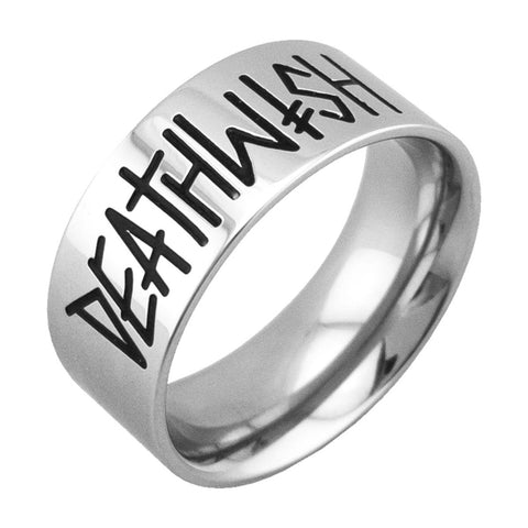 Deathwish Deathspray Silver Ring
