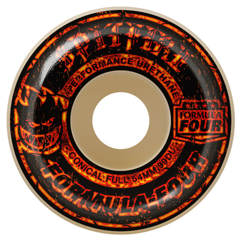 Spitfire Formula Four Embers 54mm 99A Conical Full Wheels