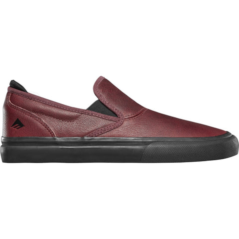 Emerica Dakota Servold Wino G6 Slip On (Oxblood)