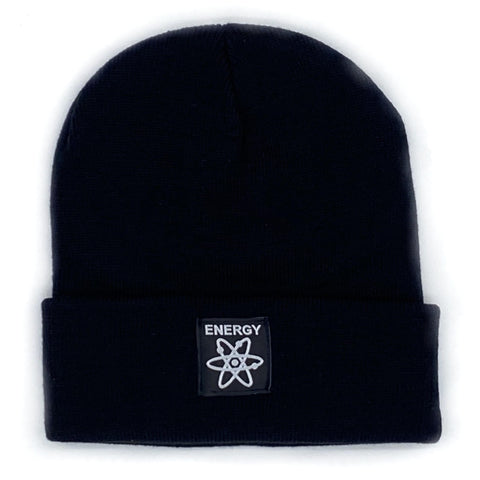 Energy OG Logo Fine Knit Watch Cap Beanie (Black)