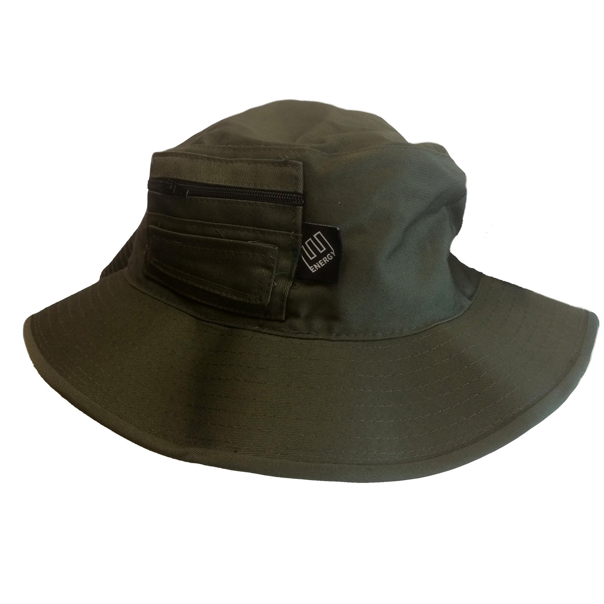 5a63d23b9e5 ENERGY Boonie Hat With Pocket (Olive Drab) – Energy Skate Shop