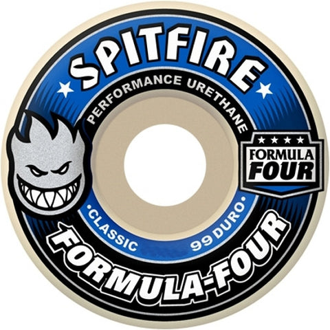 SPITFIRE Formula Four Classic Wheels: 52mm / 99A