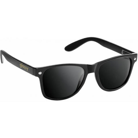 "GLASSY ""Leonard"" Polarized Sunglasses (Black)"
