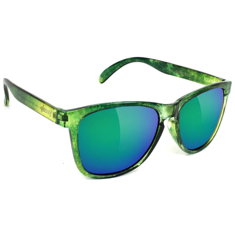 GLASSY Aaron Jaws Homoki Signature Polarized Sunglasses (Galaxy / Green Mirror)