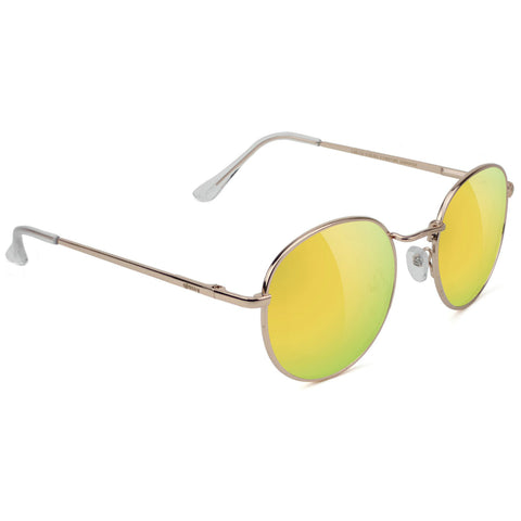 GLASSY Carlos Ribiero Signature Polarized Sunglasses (Gold / Gold Mirror)