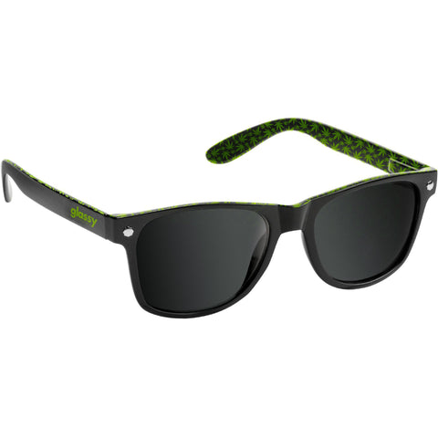 "GLASSY ""Leonard"" Sunglasses (Black / Kronik)"