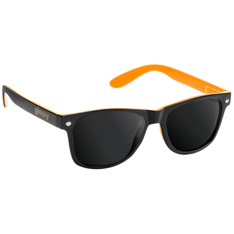"GLASSY ""Leonard"" Sunglasses (Black / Orange)"