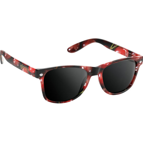 "GLASSY ""Leonard"" Sunglasses (Cherry)"