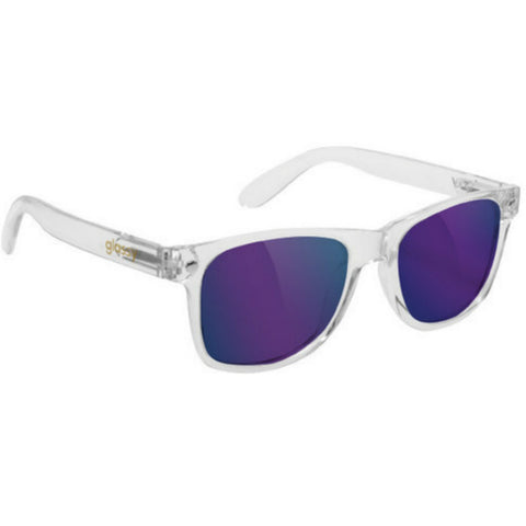 "GLASSY ""Leonard"" Sunglasses (Clear / Blue Mirror)"