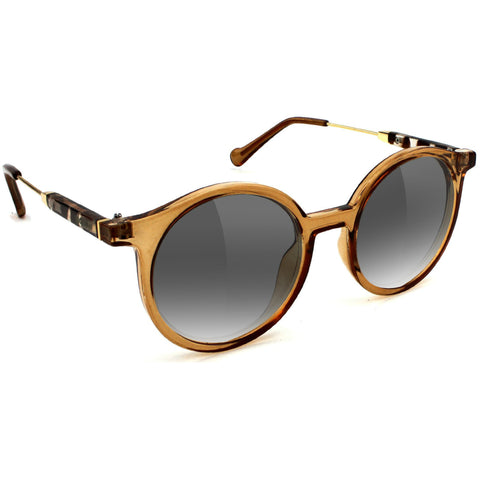 "GLASSY ""Robyn"" Sunglasses (Transparent Coffee)"