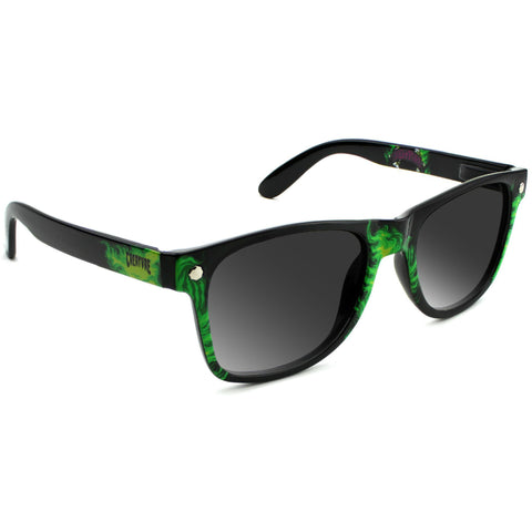 "GLASSY Ryan Reyes ""RyRey x Creature"" Signature Polarized Sunglasses (Creature Green)"